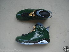 "Nike Air Jordan 6/VI ""Champagne""45 Pure Green/Metallic Gold-Challenge Red"