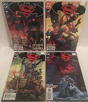 Batman Superman 14 15 16 17 Bagged And Boarded NM
