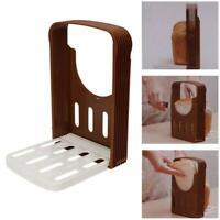 1PC Bread Slicer Cutter Mold Toast Loaf Sandwich Slicing MakerGuide Kitchen Tool
