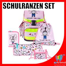 MINIONS Schulranzen Set 5-teilig Tornister Turnbeutel, Federmappe etc. Einhorn