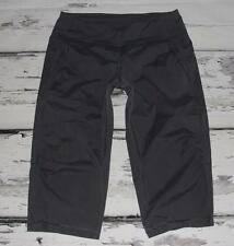 LULULEMON-DURABLE WATER REPELLENT~SWIFT *ULTRA CROP* STUDIO DANCE PANTS~8~RARE