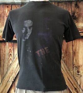 The Cure Men's Large XL Tshirt Vintage 80's 90's Prayer Tour USA 1989 Faded