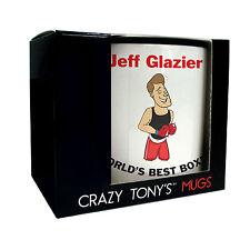 Mens Boxing Gifts, Personalised Boxing Mug, Crazy Tony's, Mans Boxing Present
