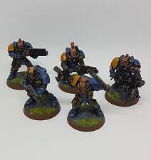 Warhammer 40k Space Lobos Scout escuadrón x5