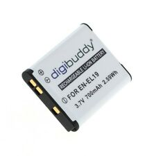 Digibuddy Accu Batterij Nikon Coolpix S7000 - 700mAh Akku Battery Bateria