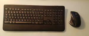 Logitech Kit clavier K800 et Souris MX800 Sans fil avec adaptateur USB UNIFYING