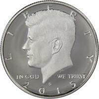 2015 S 50c Kennedy Half Dollar Clad US Coin Choice Proof