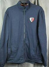 TOMMY HILFIGER Mens Head of the Charles Zip Jacket. Blue...