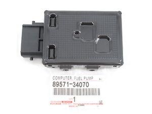 Genuine OEM Toyota Lexus 89571-34070 Fuel Pump Control Module Computer