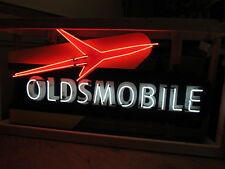 """New Oldsmobile Rocket Animated Neon Sign 72"""" Wide x 38"""" High - SSN"""