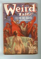 Weird Tales October 1936 Robert E. Howard Isle Of The Undead
