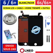 Ecran LCD /Complet iPhone 6 6s 6+ 6S+ /Plus Noir Blanc Vitre Tactile sur Châssis