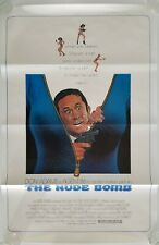 Vintage 1980 THE NUDE BOMB One Sheet Poster DON ADAMS MAXWELL SMART BUCK HENRY