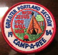 Royal Rangers Rr Greater Portland Camp-A-Ree 1984  With Jesus You Will Win