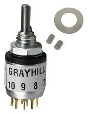 GRAYHILL - 56D30-01-1-AJN - SWITCH, ROTARY, SP12T, 200mA, 115V