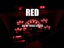 4 RED T10 LED INSTRUMENT PANEL CLUSTER DASH LIGHT BULB PC168 PC194