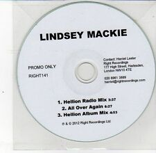 (DS630) Lindsey Mackie, Hellion - 2012 DJ CD