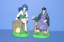 Inuyasha Inu Yasha Kagome & Miroku Hg Part3 Gashapon figure Bandai Japan