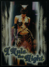 """CATWOMAN THE MOVIE (Inkworks/2004) """"I RULE THE NIGHT"""" CASE LOADER CARD #CL1"""
