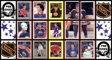 1982 O-Pee-Chee NHL Hockey Sticker Complete Set of 263 Francis Grant Fuhr Rookie