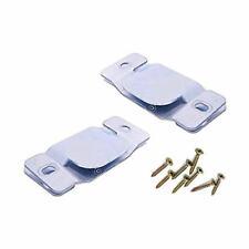 4 X Metal Corner Sofa Beds Interlocking Connecting Clips Brackets ( Screws)