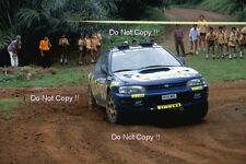 Kenneth Eriksson SUBARU IMPREZA 555 indonesiano Rally 1996 Fotografia