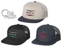 New RVCA Men's Points Snapback Trucker Cap Hat