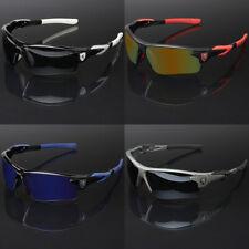Men Sport Cycling Baseball Golf Running Ski Sunglasses Color Mirror Lens Shades