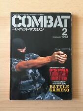 COMBAT - Military and Gun Magazine February 1993 Issue - FROM JAPAN - Pre Owned