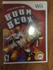 Boom Blox Nintendo Wii Game, case, and booklet Rated Everyone