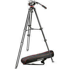 Manfrotto MVH502A Fluid Head and MVT502AM Tripod with Carrying Bag ,London