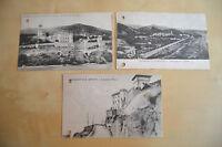 LOTTO 3 CARTOLINA SAVONA BORGHETTO SANTO SPIRITO VIAGGIATE 1919 SUBALPINA A16