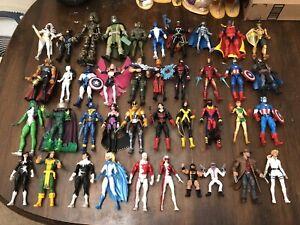 Marvel Legends Lot Of 70 #2 Miles Morales Ronan Venom Wendigo Sasquatch Logan