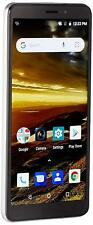 REFURBISHED NUU Mobile A5L Silver - 16GB/1GB RAM - Unlocked Phone Android 8Go