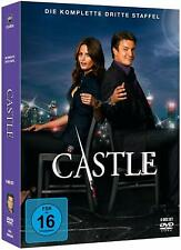 CASTLE Complete Season 3  Third TV Series -Nathan Fillion NEW 6 DVD REGION 2 PAL