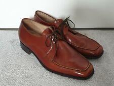 Grenson Rojizo de Cuero con Cordones para Hombre Zapatos-Talla 9