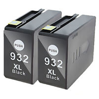 Black Ink Cartridges for HP 932 XL 932XL OfficeJet 6100 6600 6700 7110 7610 7612