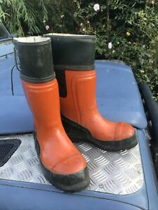 Stihl Concept Chainsaw Boots Class 2 Used Once EU 39 UK 6