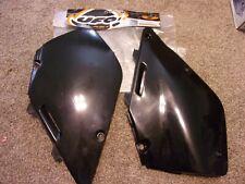 UFO Side Panels Black #SU02959-001 Suzuki RM125/RM250 1996-2000