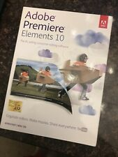 Adobe Premiere Elements 10 Win/mac Big Box Sealed New Video Editor Software