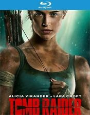 Tomb Raider (Blu-ray/DVD, 2018, Alicia Vikander) NEW