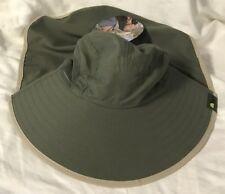 NWT adult unisex floppy hat Sun Protection Zone brand outdoor work sun blocking