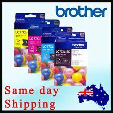 Brother LC77XL-BK LC77XL-C LC77XL-M LC77XL-Y  Ink Set MFC-J6710DW MFC-J6910DW