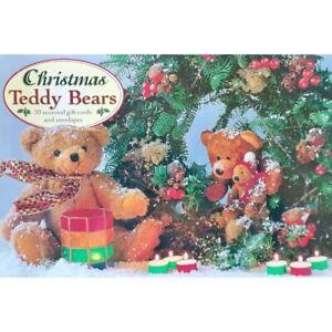 Christmas Teddy Bears:  20 Seasonal Cards & Envelopes  -    5055016000242