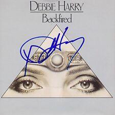 "Debbie Harry signed Backfired 7"" lp Blondie"