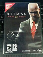 Hitman: Blood Money PC Game,Players Guide (Inst. Book),Orig Case NTSC-U/C 2006
