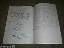 1982 82 TOYOTA 82.5 E-AL20Z 21Z 1982.10 JAPANESE JDM PARTS BOOK CATALOG DIAGRAM