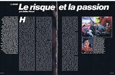 Coupure de presse Clipping 1982 Didier Pironi pilote de formule 1 (10 pages)