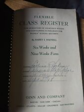 1948 Dover State College Class Register Lillian R. Sockum