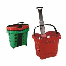 More details for giant red shop basket trolley sby20753 - sby20753